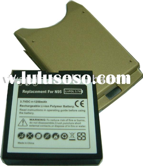 Nokia N95 mobile phone battery for the replacement