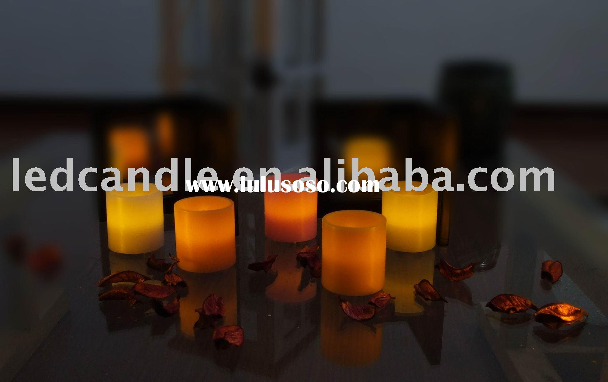 Rechargeable candles, led candles