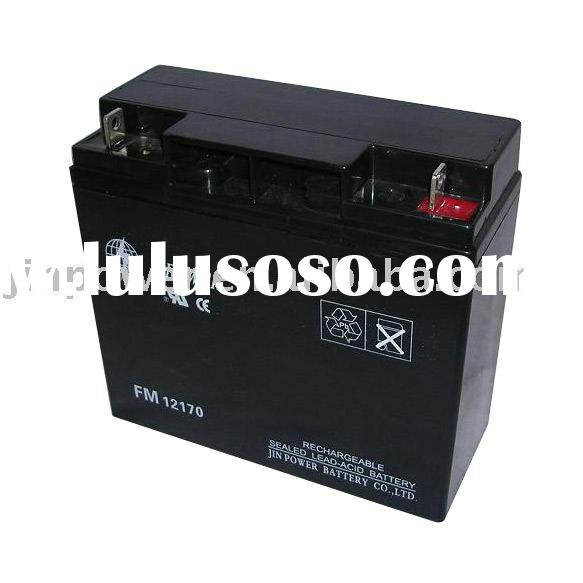 Sealed Lead-Acid Battery (12V, 17Ah)