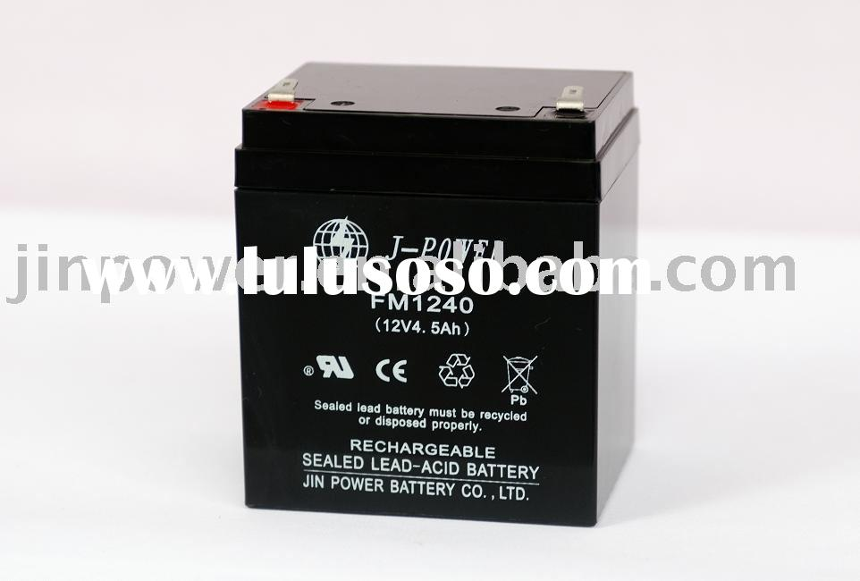 Sealed Lead-Acid Battery (12V, 4.5Ah)