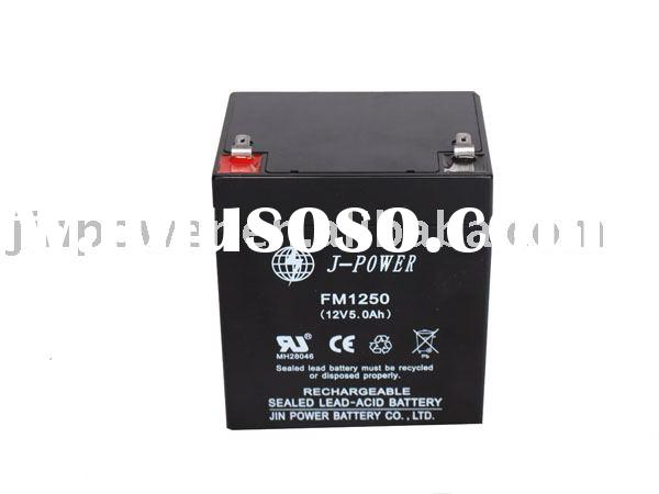 Sealed Lead-Acid Battery (12V, 5Ah)