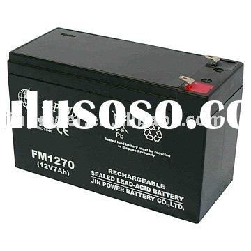 Sealed Lead Acid Battery (12V, 7Ah)