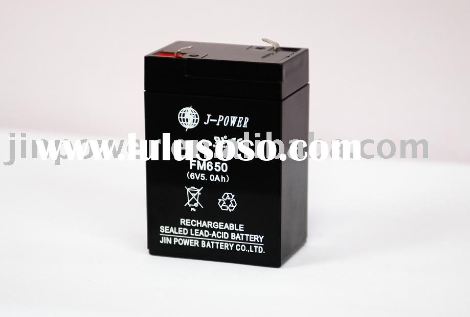Sealed Lead Acid Battery (6V, 5Ah)