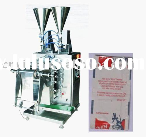 Shampoo sachet machine