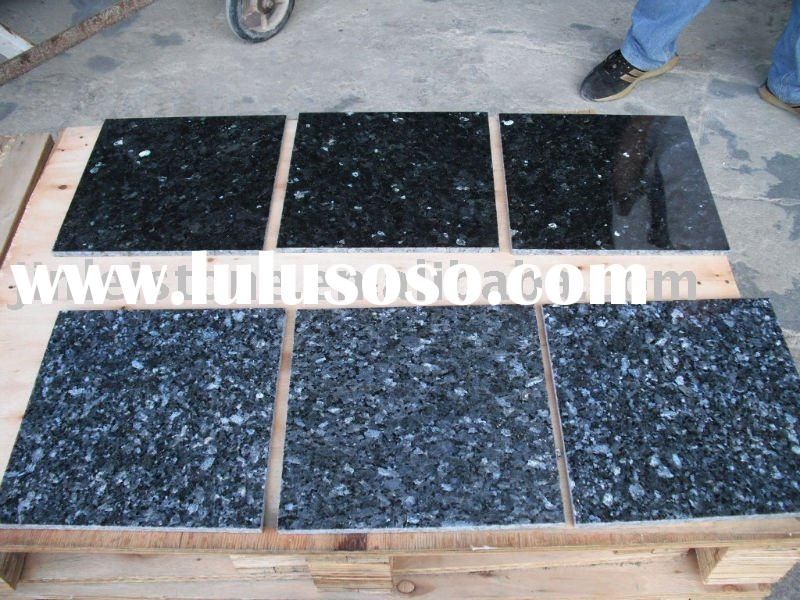 blue pearl and emerald green granite tile