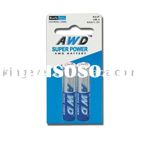 dry battery AAA BATTERY
