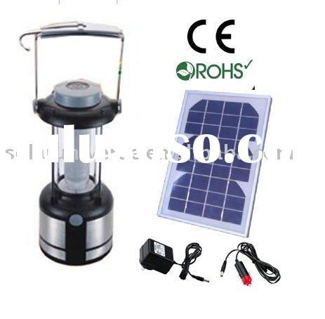 rechargeable solar camping lantern with 36led