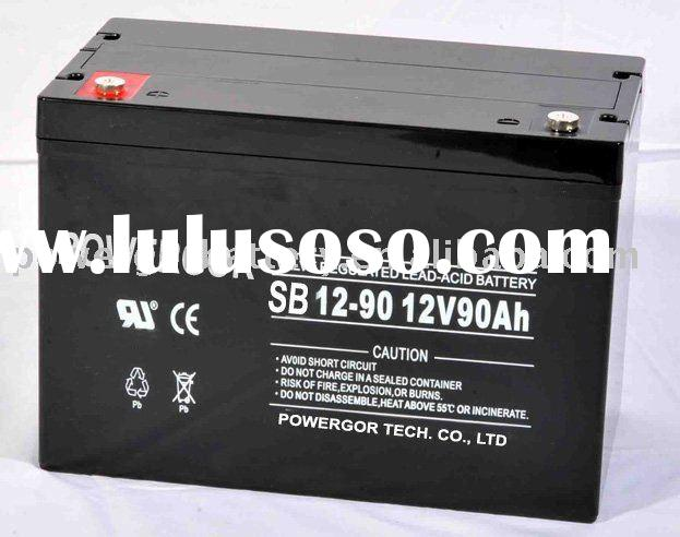 sealed rechargeable battery 12V90Ah