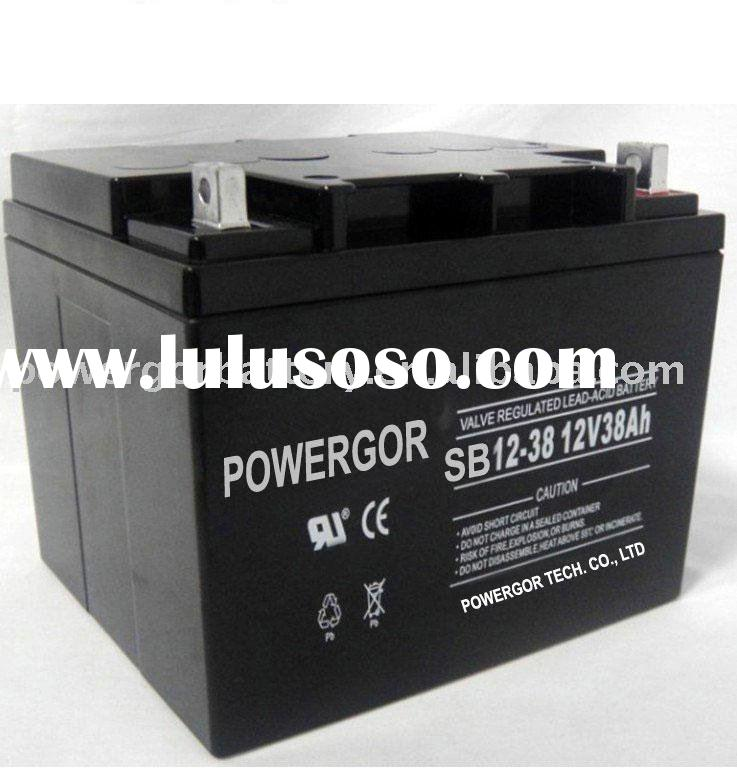 sealed rechargeable battery 38Ah