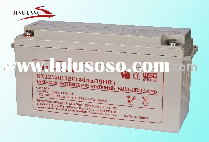 sealed rechargeable gel battery