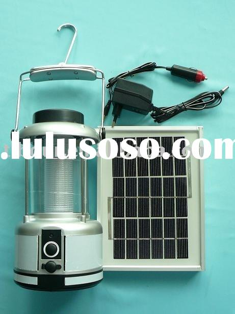 solar rechargeable 36& 72 led lantern