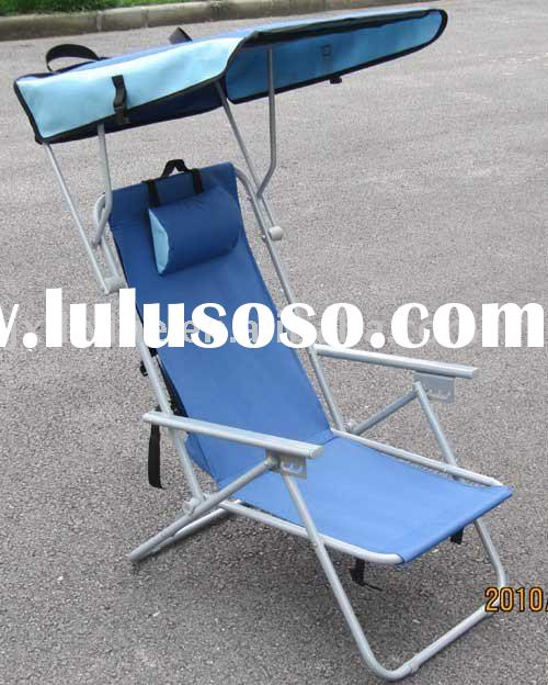 BEACH CANOPY CHAIR-Beach chairs outdoor furniture