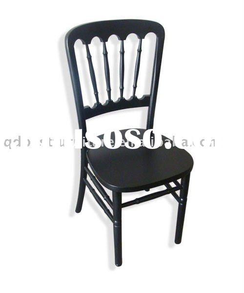 Black wooden Chateau Chair