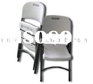 Bolw Molded Plastic Folding Chair