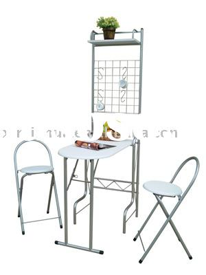 Folding Dinner Table and Chair