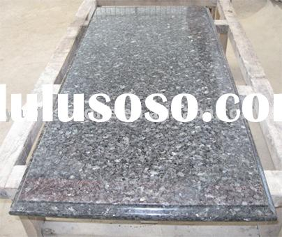 Laminated Ogee Bullnose Edges Countertop, Blue Pearl Granite Countertops