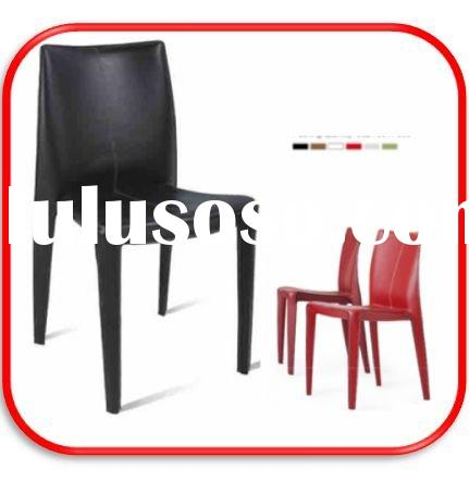 Molded plastic dining chairs furniture