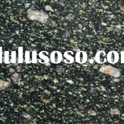 Peacock Green Granite Slab