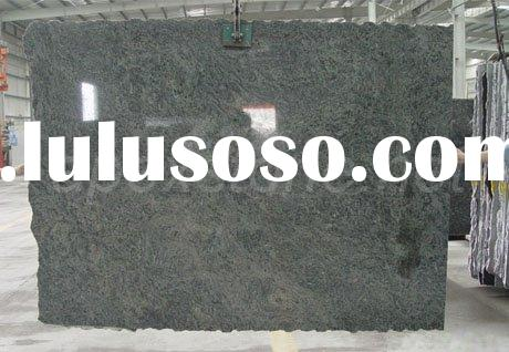 Peacock Green Granite Slabs
