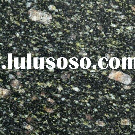 Peacock green granite tile