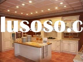 Red Oak Kitchen Cabinets with Granite Counter Tops