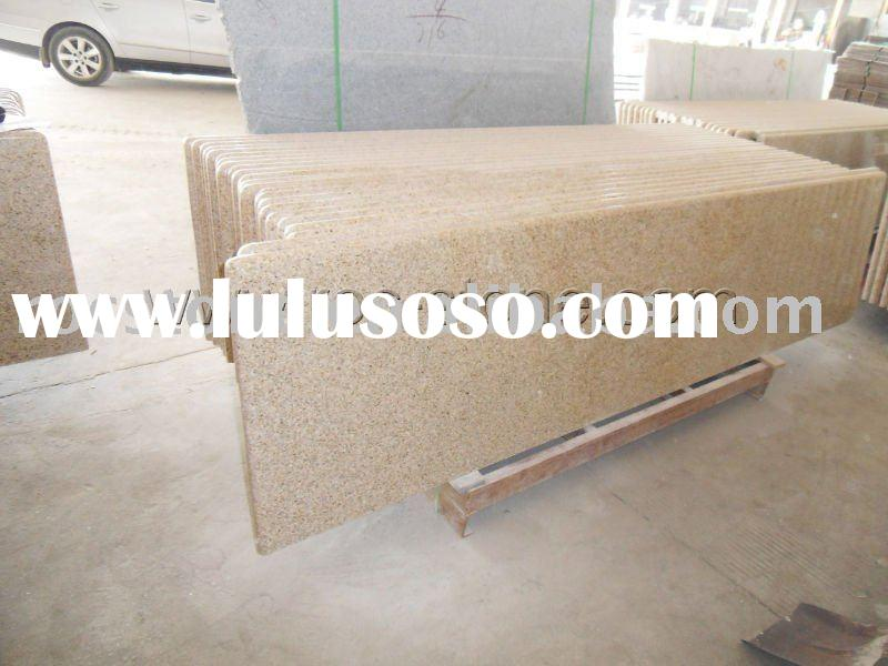 Sunset Gold granite countertop pictures