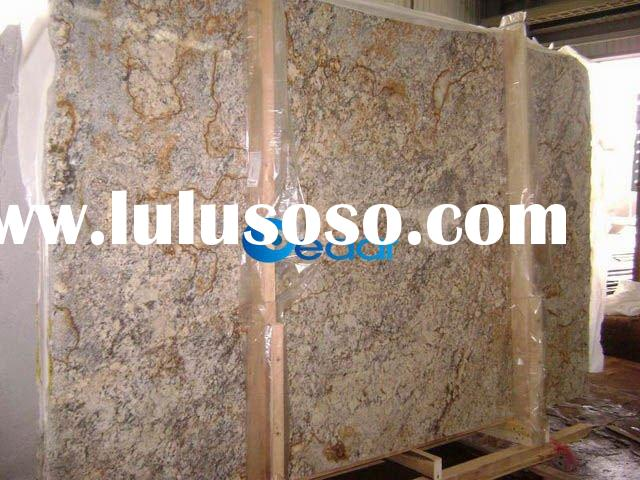 Typhoon Bordeaux Yellow Granite Slab 3cm