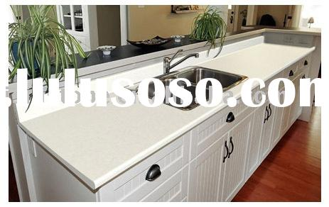 absolute white quartz worktops, vanity tops and kitchen tops