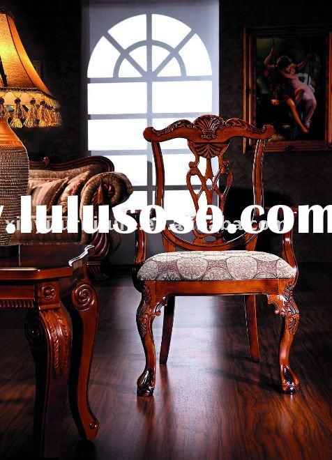 antique wooden arm chairs FA612A