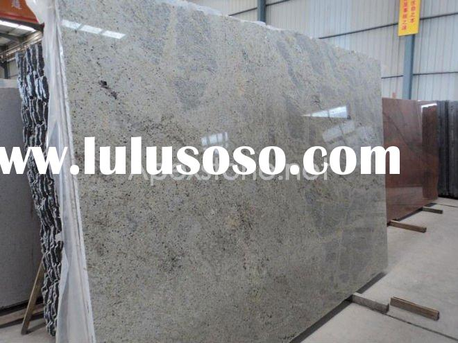 cashmere white granite slab