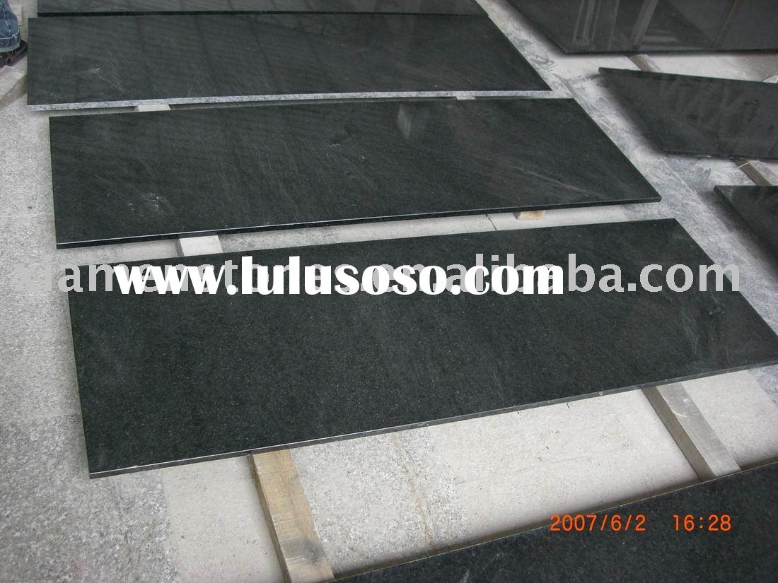 granite countertop absolute black