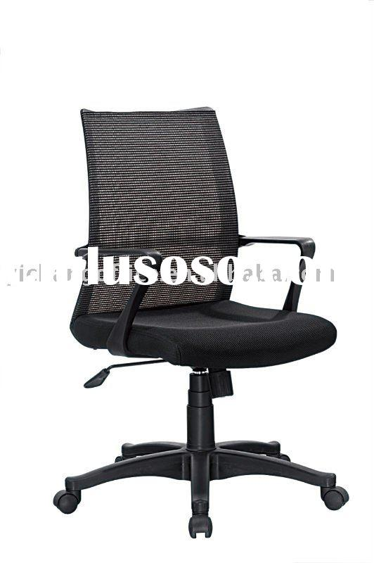 middle back chair, swivel chair , mesh back