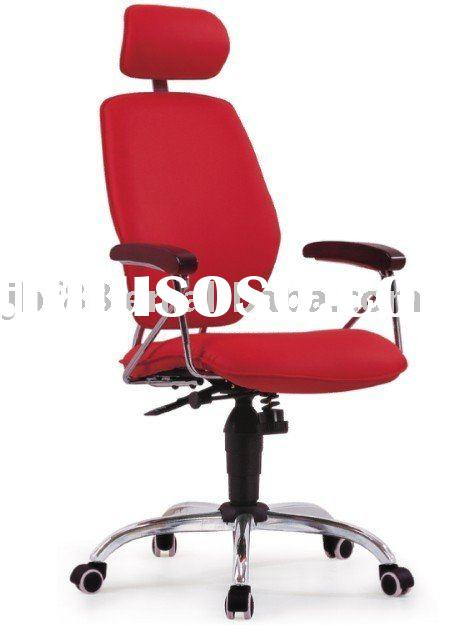 pu high back office chair with headrest (J-9036)