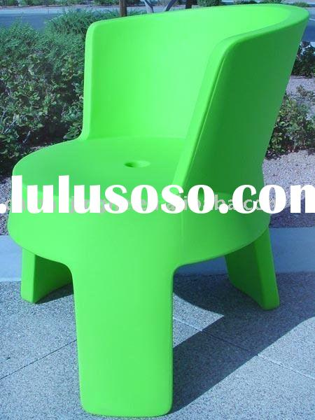 rotational molded plastic chair