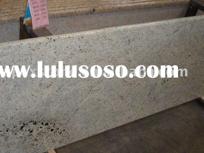 white cashmere granite countertop