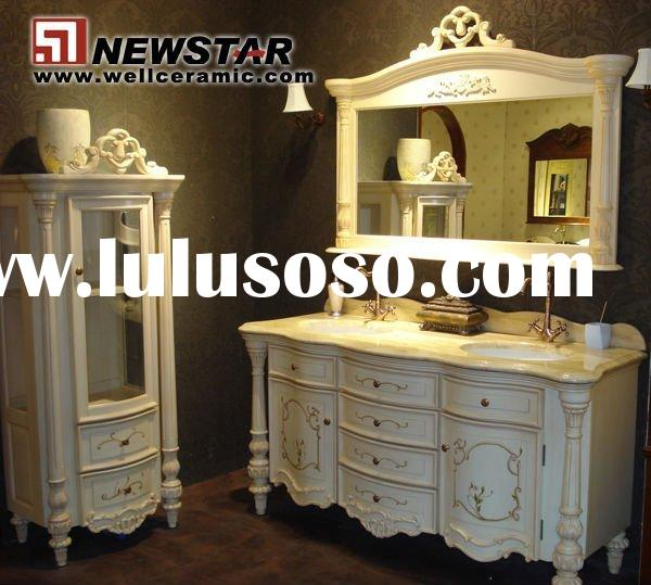 DESIGN ELEMENT LONDON 48QUOT; SINGLE BATHROOM VANITY WITH FOUR DRAWER