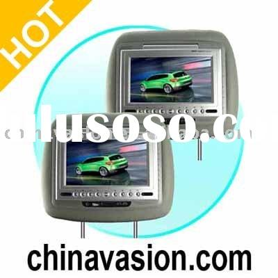 Auto Electronics - 7 Inch Headrest Car LCD DVD Player