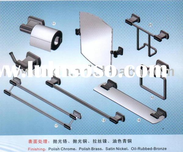 Bathroom hardware/ accessories,paper holder,sanitary ware,towel holder, glass shelf, mirror holder