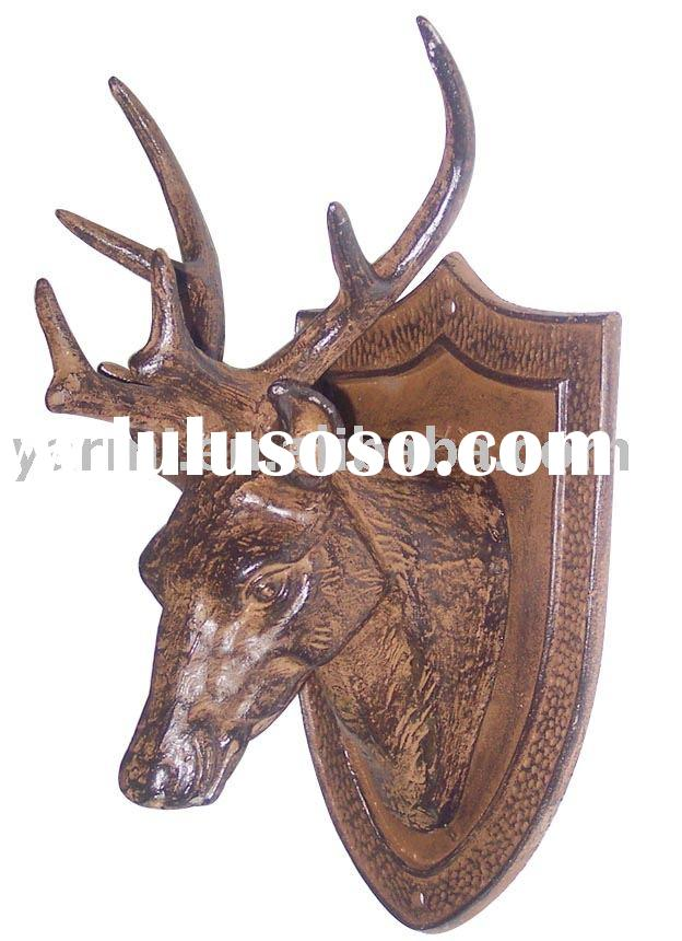 CAST IRON DEER HEAD