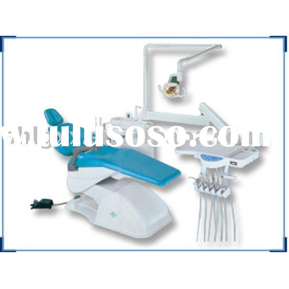Dental chair with light