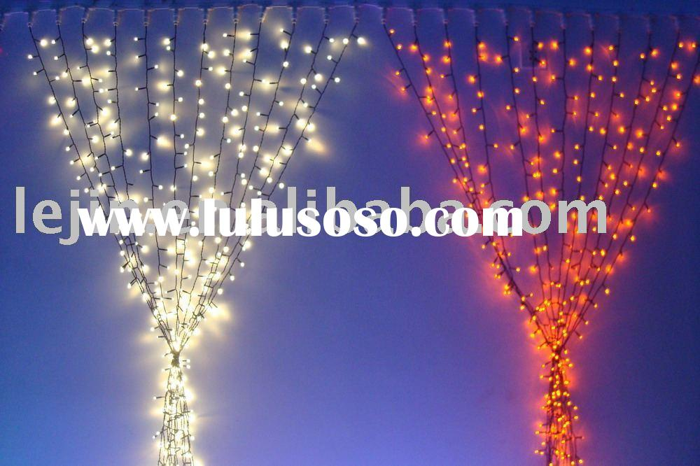 Holiday Lighting(christmas lighting,Holiday lights, curtain light, string light,snowfall light)