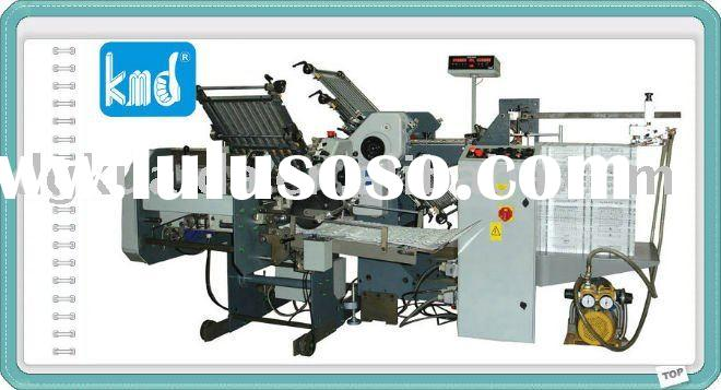 KMD-470T 6combs+4combs+1knife Paper folding machinery&paper processing/packaging machinery