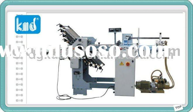 KMD-8combs Packaging Machinery&Mini Manual folder&paper folding machine