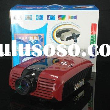 ON SALE!! hdmi lcd  projector with TV 1080p 2000 lumens