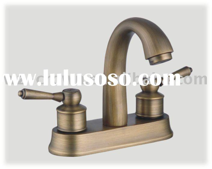 "Oil Rubbed Bronze 4"" Centerset Bathroom Faucet NEW"