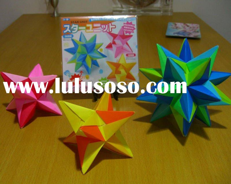 How To Origami Star. Origami Star Unit