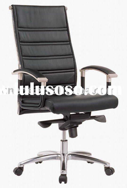 Quality Leather upholstery ergonomic office chair