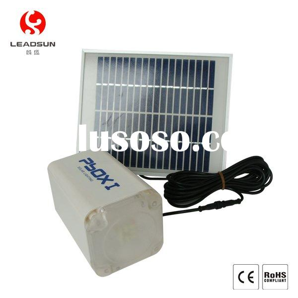 Solar lamp for indoor