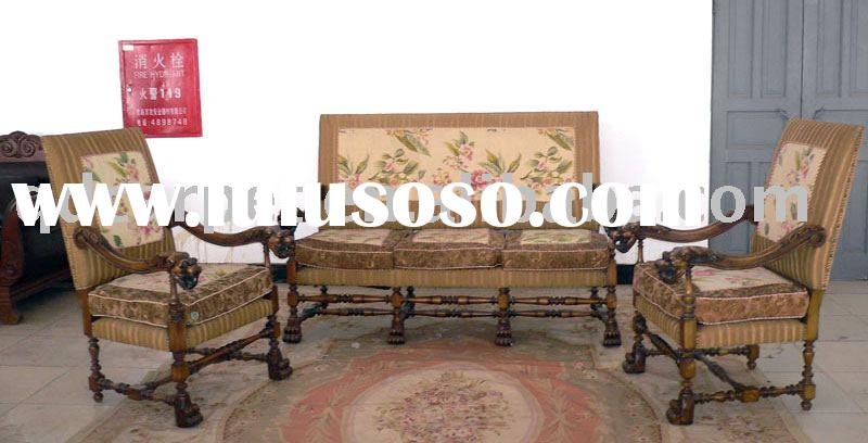 home chair ,antique furniture,Lion's Head chair