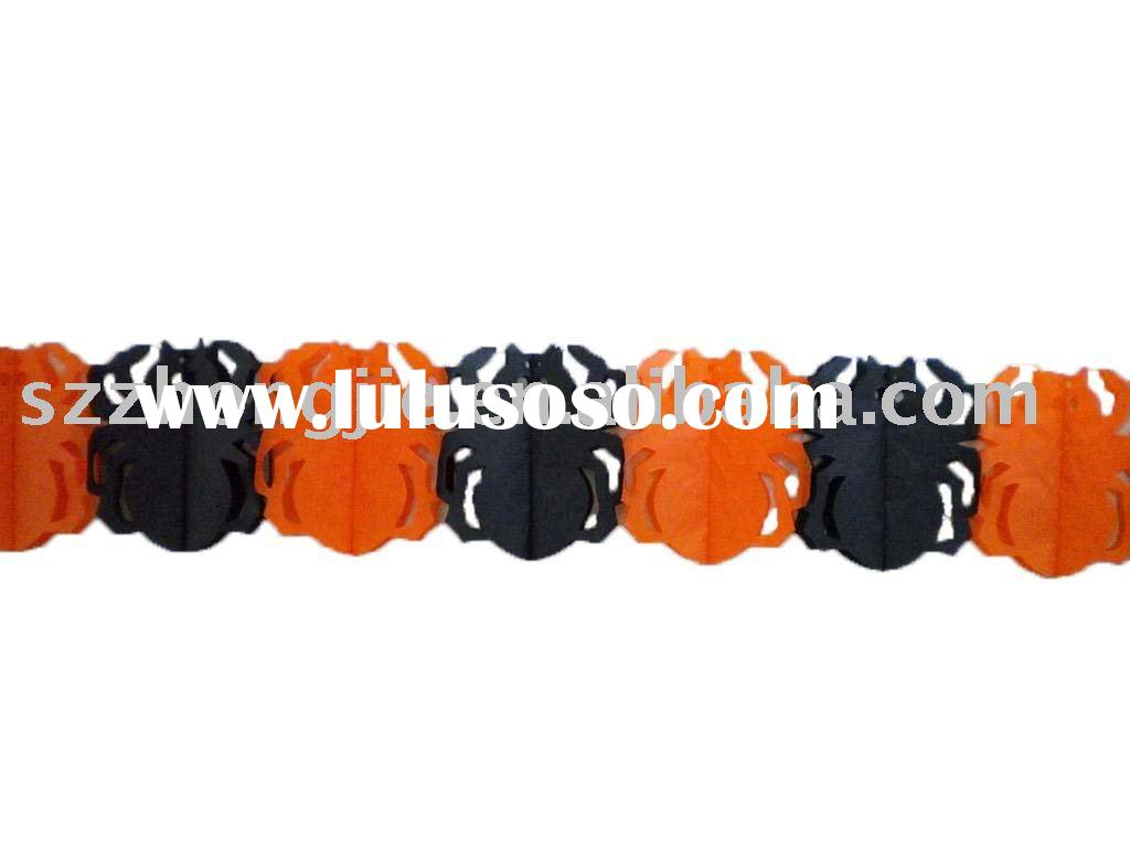 party garland Halloween decoration